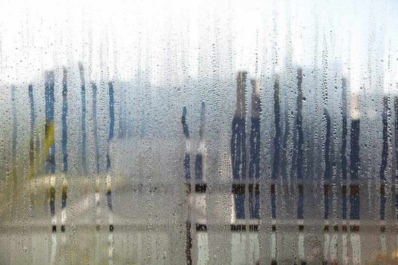 voorkom condensatie en schimmel