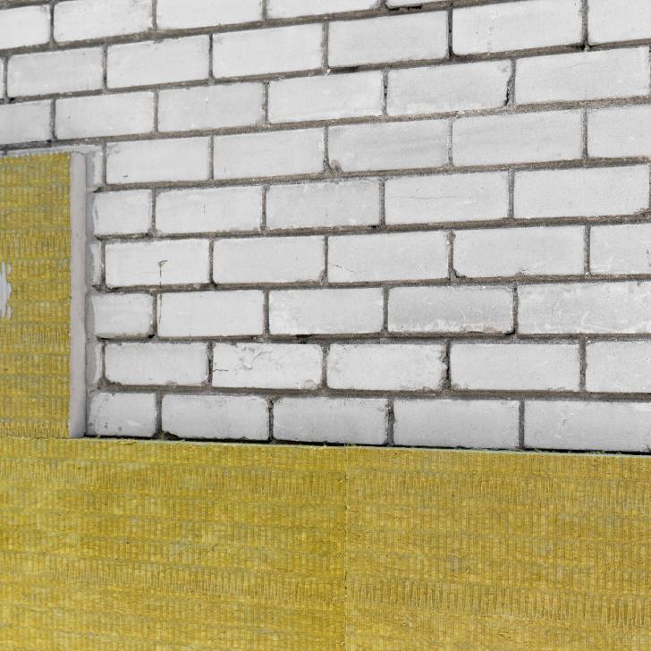 Steenwol muurisolatie