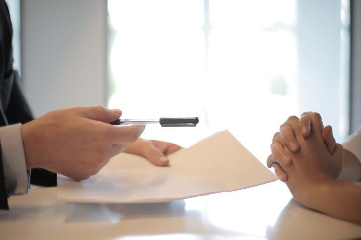 Voorlopig koopcontract tekenen